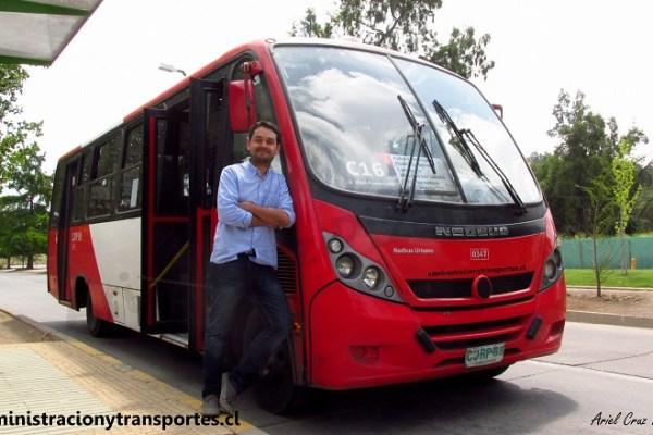 Entrevista Felipe Vásquez – Cómo es trabajar en Transantiago