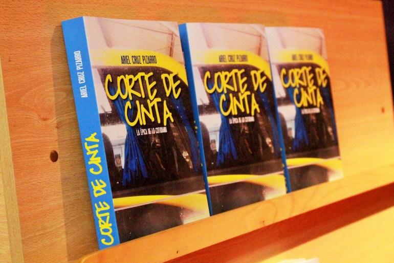 Libro Corte de Cinta: la épica de lo cotidiano de Ariel Cruz Pizarro