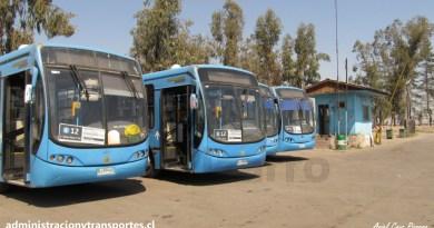 Transantiago | Primera visita al Terminal Julio César Unitran (Septiembre 2011)