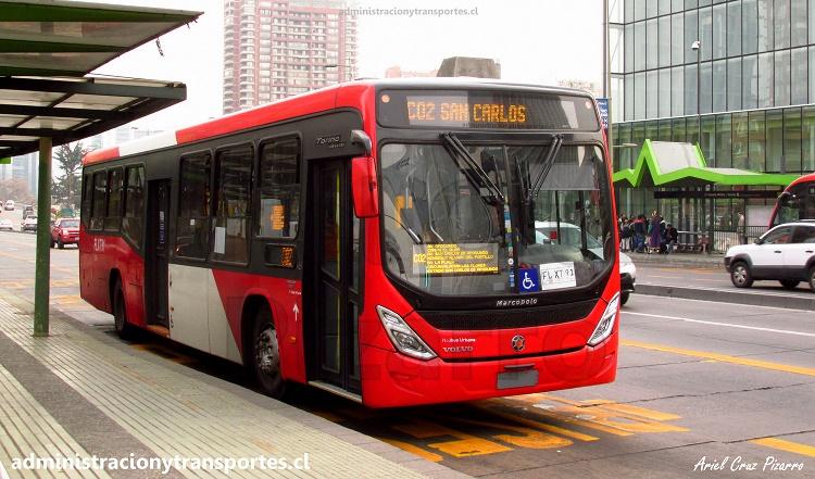 Marcopolo Torino Low Entry Volvo - Administración y Transportes CL