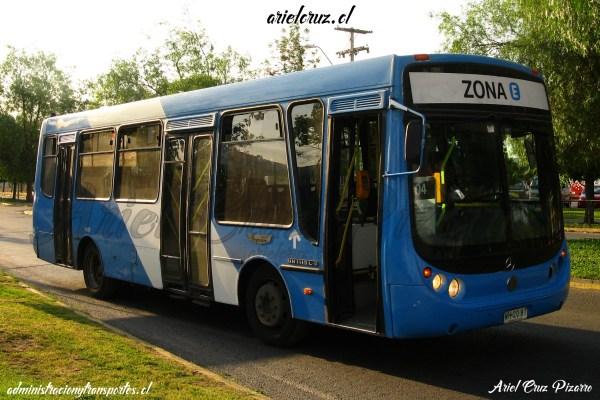 Buses Metalpar Tronador en Santiago de Chile