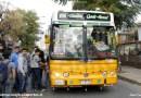 Micros Amarillas realizan viajes por Santiago en Día del Patrimonio