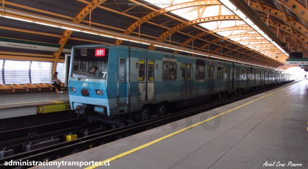 CU03 – Fallida espera 106 + Tren NS74 3001 + Línea 6 Voces + Bus vacío