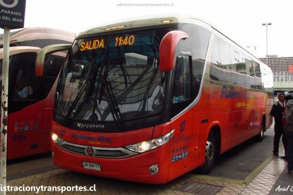 EV: Pullman Bus Costa Central 122, Santiago a Valparaíso