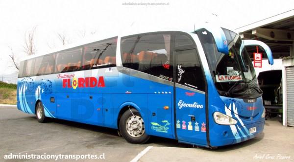 EV: Pullman Florida FHFF97 en viaje Rancagua – Santiago (Irizar i6)