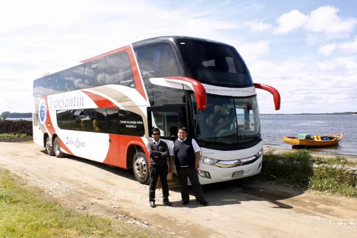 Tripulación Buses Transantin HYDC20 | Aníbal (asistente) & Leonardo (conductor)