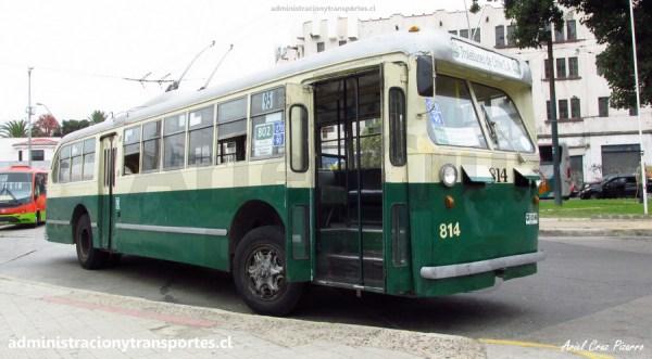 Un viaje en el trolebús 814 Valparaíso, el más antiguo del mundo…