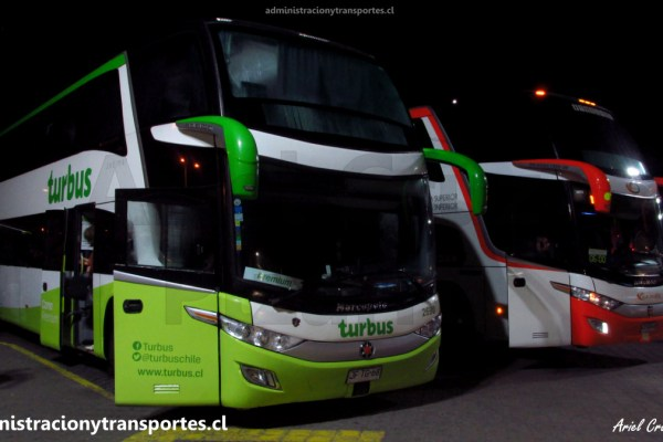 EV: Viaje en Tur Bus Premium 2690, Santiago a Vicuña