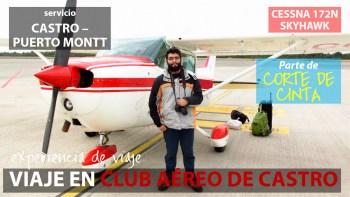 Vuelo Castro a Puerto Montt en avioneta Cessna 172N