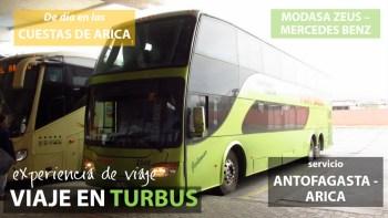 Viaje en Tur Bus desde Antofagasta a Arica