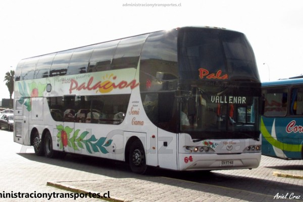En el bus Youngman Skyliner de Buses Palacios