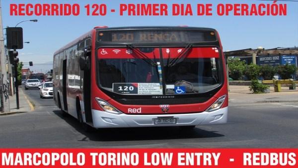 Recorrido 120 Santiago