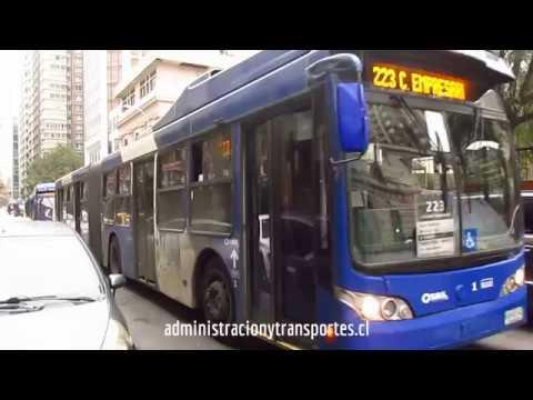 Recorrido 223 Santiago