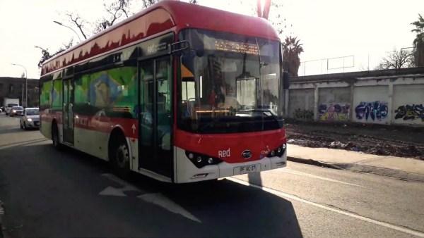 Recorrido 406 Santiago