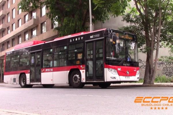 Recorrido 419 Santiago