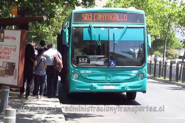 Recorrido 502 Santiago