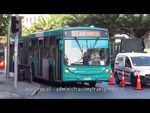 Recorrido 513 Santiago