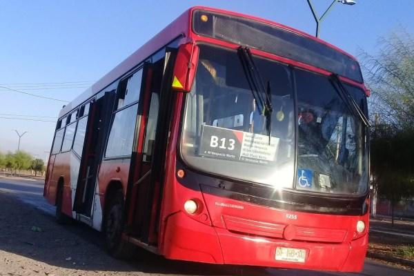 Recorrido B13 Santiago