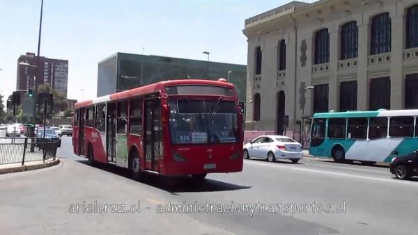 Recorrido B26 Santiago