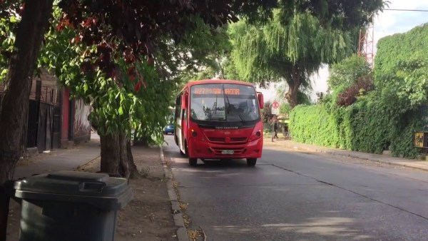 Recorrido B27 Santiago