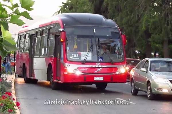 Recorrido C03 Santiago