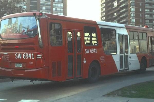 Recorrido C11 Santiago