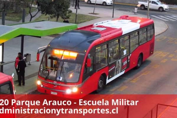Recorrido C20 Santiago