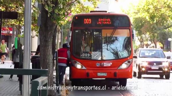 Recorrido D09 Santiago