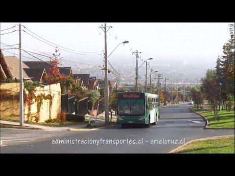Recorrido E07 Santiago
