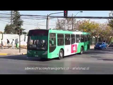 Recorrido E13 Santiago