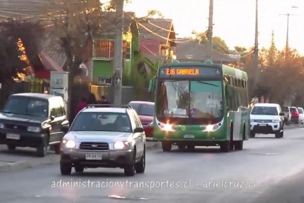 Recorrido E16 Santiago