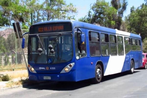 Recorrido G22 Santiago