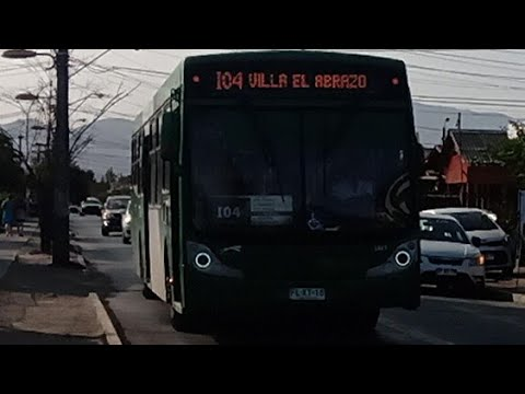 Recorrido I04 Santiago