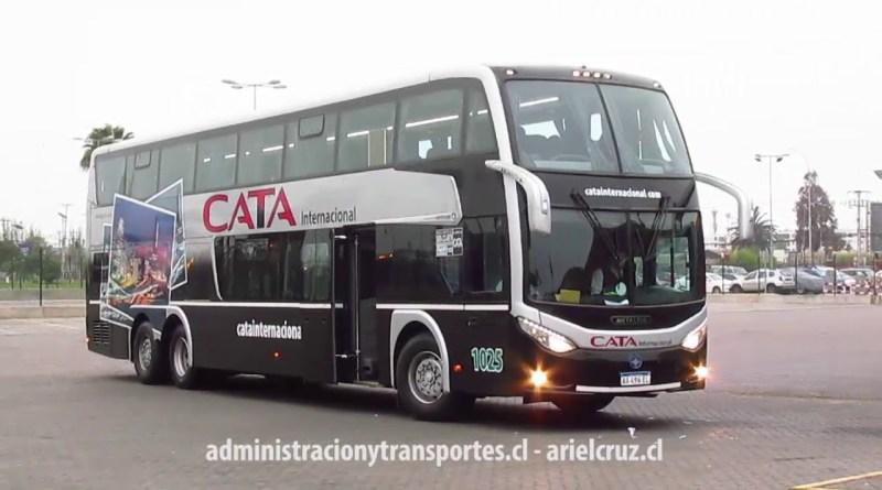 [Video] Bus Cata Internacional en ruta Mendoza – La Serena