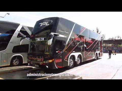 [Video] Buses Talca París & Londres 6090 yendo hacia Talca