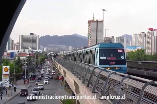 [Video] Trenes Alstom NS93 en San Joaquín + Atardecer
