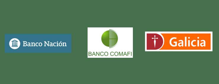 Banco Nación - Banco Comafi - Banco Galicia