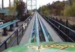 Front Row In A Roller Coaster