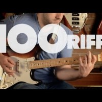 A brief story of Rock N'Roll (100 riffs)