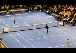 Funny and amazing tennis