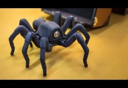 Inside Adam Savage's Cave: Awesome Robot Spider