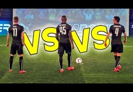 BALOTELLI vs. REUS vs. FABREGAS – evoPOWER CHALLENGE – Part 1/2