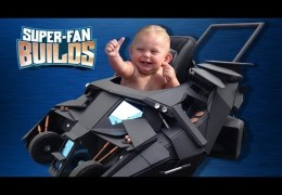 Batmobile Baby Stroller (The Dark Knight) – SUPER-FAN BUILDS