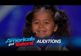 "Heavenly Joy: A Cute Kid Taps and Sings ""In Summer"" from Frozen – America's Got Talent 2015"