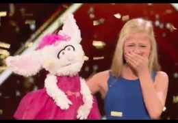 12 Y. O. Ventriloquist Singer Gets MEL B GOLDEN BUZZER | Week 1 | America's Got Talent 2017