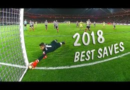 Best 50 Goalkeeper Saves 2018 ● HD