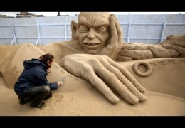 AMAZING Time Lapse SAND SCULPTING Videos – 3D Art Sand Sculptures – Talented Street Artists