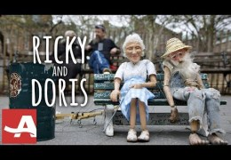 Ricky & Doris: An Unconventional Friendship in New York City. With Puppets!
