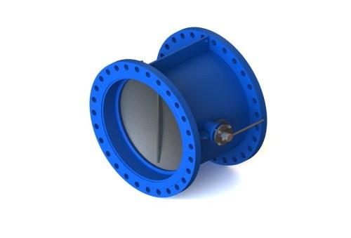 Затвор (клапан) зворотній дисковий нержавіючий 19нж49нж Ду 150 Ру 25