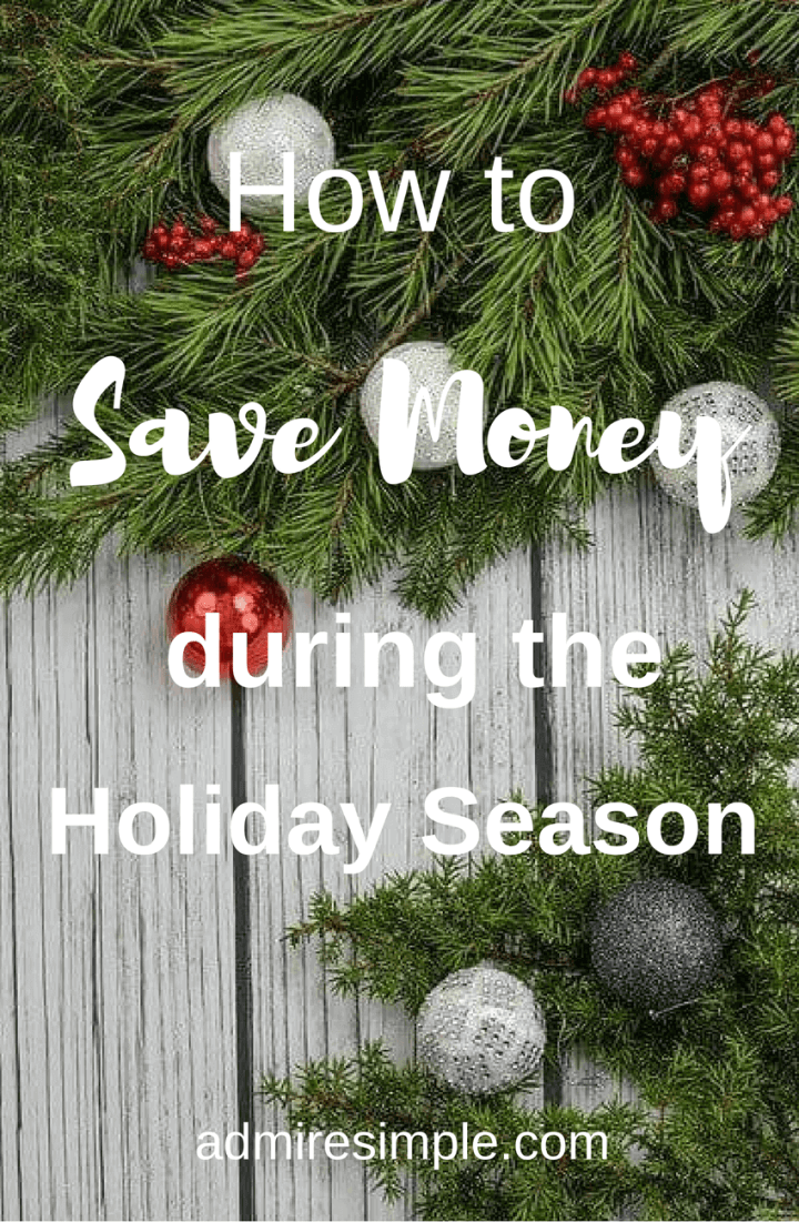 How to have a debt-free Christmas? Here are 5 things you can do to save money during this holiday season.
